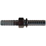 3//4 Hose ID x 3//4 NPSM Dixon SLS606 Long Shank Complete Coupling Plated Steel